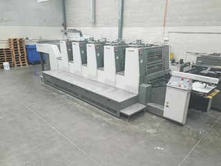 Komori  Lithrone LS529 Offset de pliegos