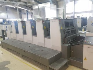 Komori  Lithrone LS529 (H) Offset de pliegos