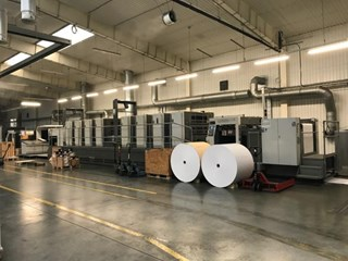 Komori  Lithrone GL840P H UV Sheet Fed