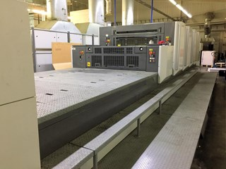 Komori Lithrone LS440+C Sheet Fed