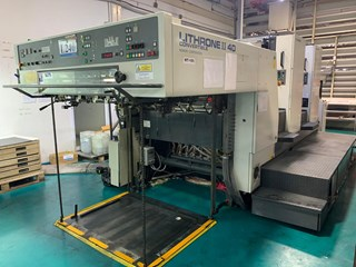 Komori Lithrone L240P Sheet Fed