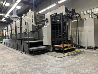 Komori Lithrone L540P Machines offset à feuilles