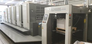 Komori  Lithrone GL540+C Sheet Fed