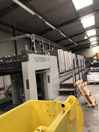 Komori  Lithrone LS840P Sheet Fed
