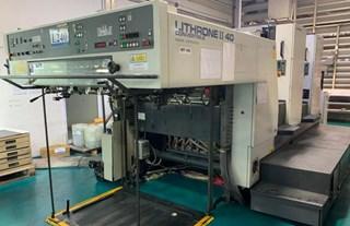 Komori  Lithrone L240P 单张纸胶印机
