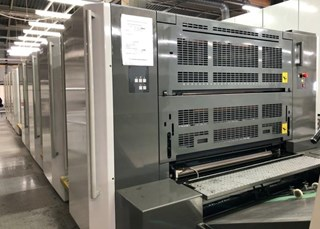 Komori  Lithrone GL840P Sheet Fed