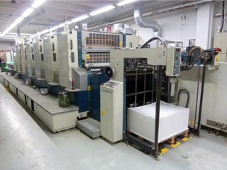 Komori  Lithrone L640+C Offset de pliegos