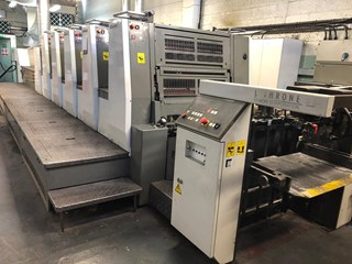 Komori Lithrone LS529+C (H) UV Sheet Fed
