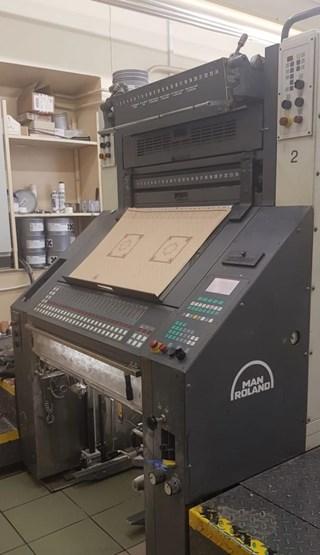 MAN Roland  R202 E Machines offset à feuilles