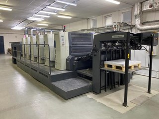 MAN Roland  R705+LV HiPrint Sheet Fed