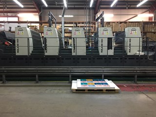 Manroland R905-8 Sheet Fed