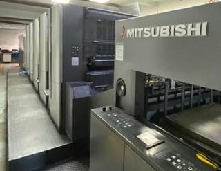 Mitsubishi  Diamond V3000 LS 5+C+ED Sheet Fed