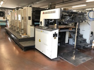 Mitsubishi  Diamond 3000 S 5 Sheet Fed