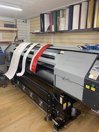 XenonS  X4 7205 Wide Format Digital Printer Hybrid