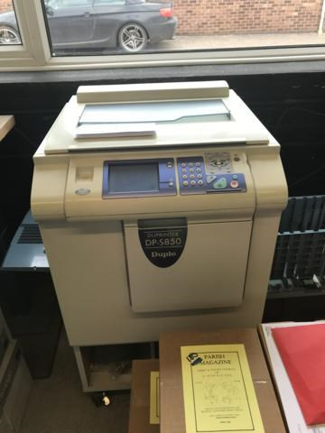 Show details for  Duplo  DP S850 Digital Duplicator