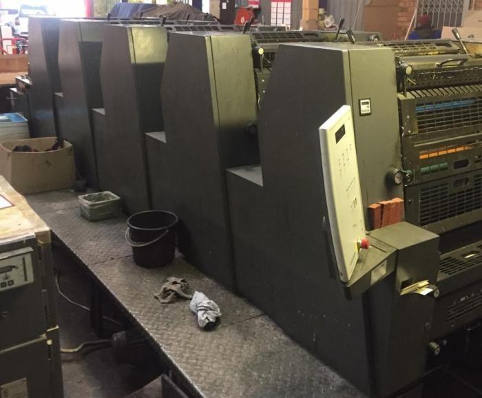 Heidelberg  Printmaster PM GTO 52 5P