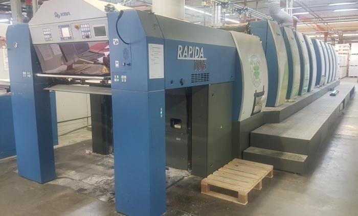 KBA  Rapida RA106 4+T+4 SW