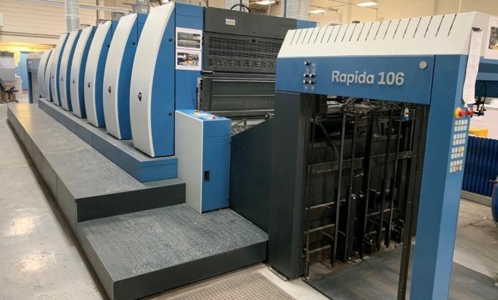 KBA  Rapida RA106 6+L ALV2