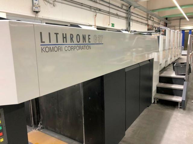 Komori  Lithrone GL537+C