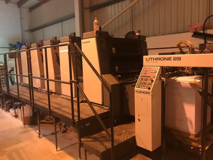 Show details for  Komori  Lithrone L528 EH