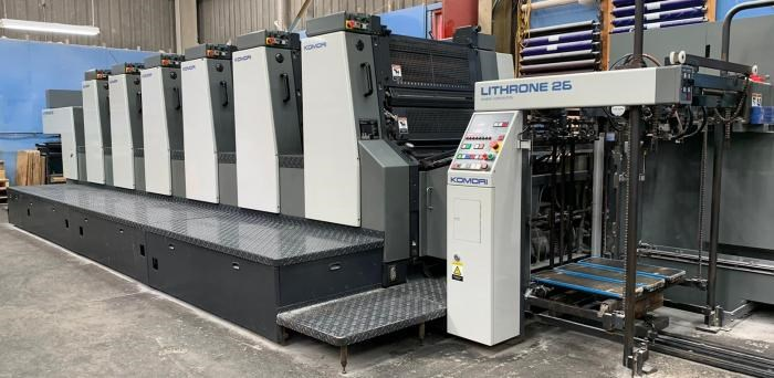Show details for  Komori  Lithrone L628 EM