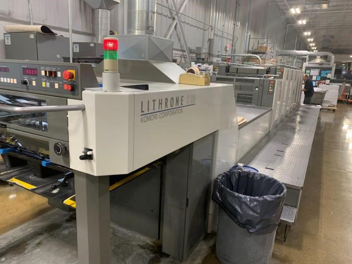 Show details for  Komori  Lithrone LS629+C
