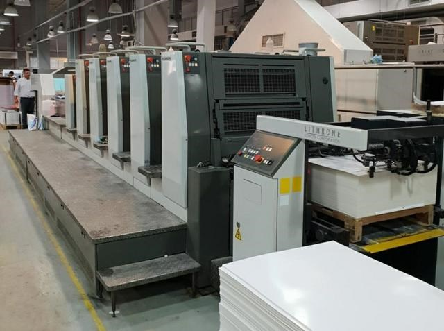 Show details for  Komori  Lithrone LS529+C (H)