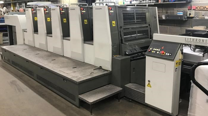 Show details for  Komori  Lithrone LS529 (M)