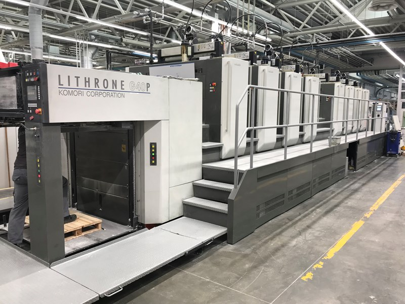 Show details for Komori Lithrone GL840P