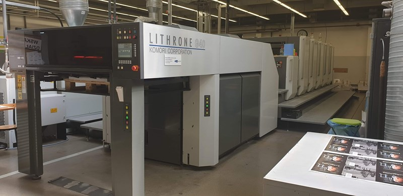Komori Lithrone GL540+CX