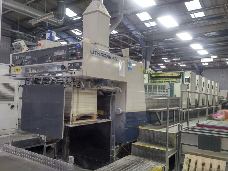 Show details for Komori Lithrone L640+C