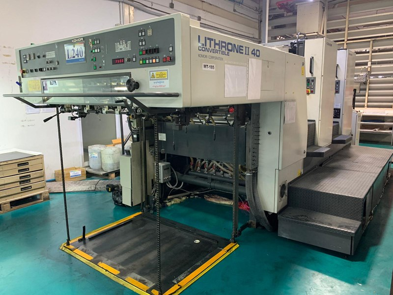 Show details for Komori Lithrone L240P