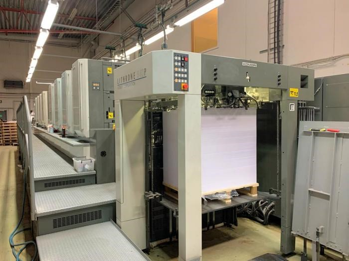 Show details for  Komori  Lithrone LS840P (H)