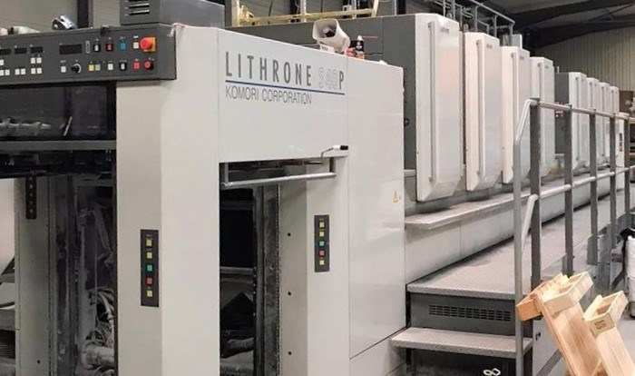 Show details for  Komori  Lithrone LS840P