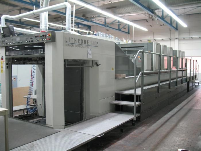 Show details for  Komori  Lithrone LS540P+C