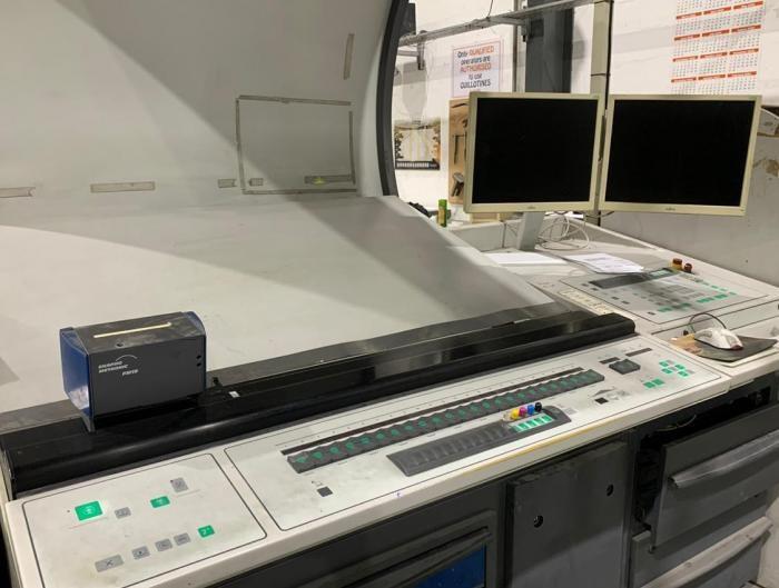MAN Roland  R504+LV HiPrint