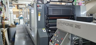 Komori Lithrone L526 Sheet Fed