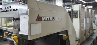 Mitsubishi Diamond 2000LS-4 Sheet Fed