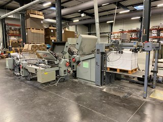 Stahl TD 78 4/4/2 Folding Machines