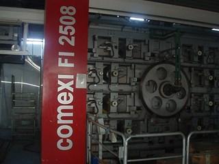 Comexi FI 2508 CNC-GL  Flexografía