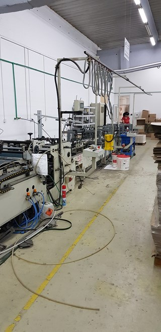 Grassi Master 100 Carton /Folder Gluers