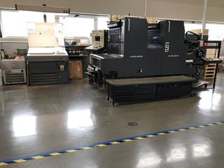 Heidelberg MOZP Sheet Fed
