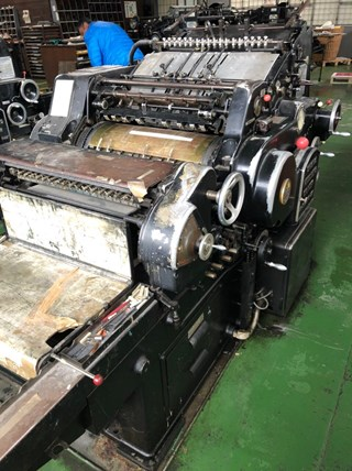 Heidelberg OHZ KSBA Die Cutters - Automatic and Handfed