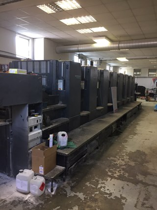 Heidelberg SM 102-8P5 Sheet Fed