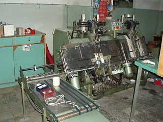 Kolbus KB 400 Hard Cover Book Block Production / Sewing