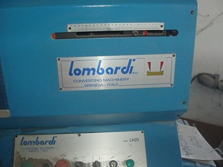 Lombardi LH 23 Die Cutters - Automatic and Handfed