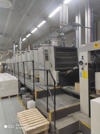 Manroland 706 LTLV Sheet Fed
