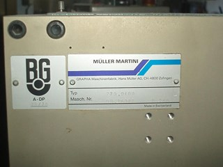 Muller Martini 300 Saddlestitchers