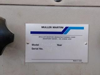 Müller Martini Presto Cosedoras embuchadoras; Encoladoras / Fresadoras