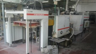 Tyme USTAR 36- U.V. Spot coating machine